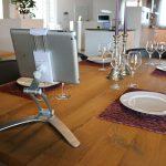 NFE² Smartcook-online Handy Halterung - Universal Küche Handyhalter zum Kleben oder Bohren