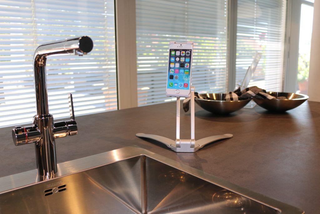 Küchenhalterung Küchenhalter Küchenständer Handyhalterung Smartphonehalterung Smartphonehalter